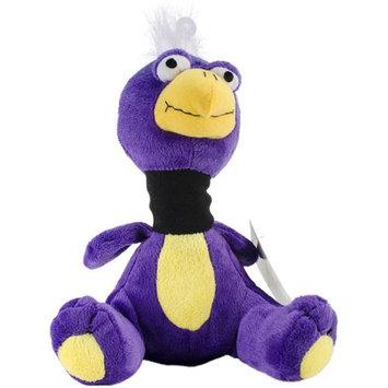 Innovation Pet Floogles Dodo Bird Pet Toy W/Squirrel Call Sound-Purple