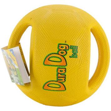 Innovation Pet DuraDogBall Interactive Grip Ball Large-Yellow