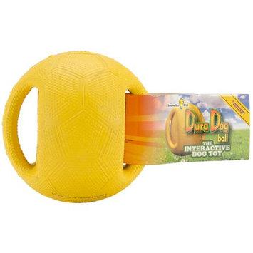 Innovation Pet DuraDogBall Interactive Grip Ball Small-Yellow