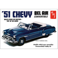 Round 2 Llc Chevy 1951 Bel Air Convertible Model Kit