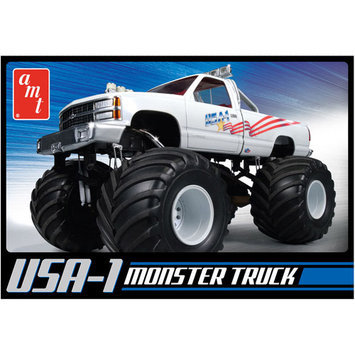Round 2 Usa-1 4X4 Monster Truck