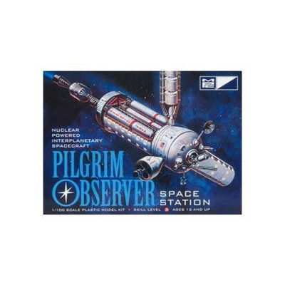 Round 2 NASA Pilgrim Observer Space Station Model Kit