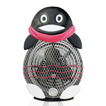 WBM Himalayan Breeze 10.2 in. Decorative Table Fan Penguin (Large) HBL-9049