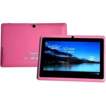 Worryfreegadgets Zeepad 7-rock 8GB Tablet - 7 - Wireless Lan - Rockchip Cortex A9 Rk3026 1.50 Ghz - Pink - 1GB RAM - Android 4.2.2 Jelly Bean - Slate - 1024 X 600 Multi-touch Screen Display - (7drk-rock-pink)
