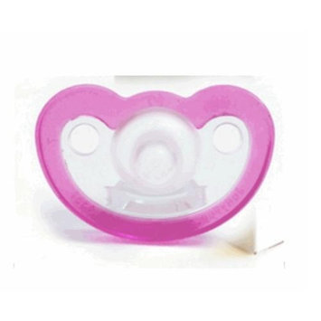 JollyPop Unscented Pacifiers 0-3m - Pink