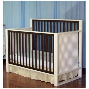 Eden Baby Furniture 90310 Moderno Crib - White/Espresso