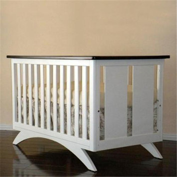 Eden Baby Furniture 90210 Madison Crib - White/Espresso