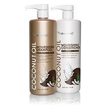 Nature Well Extra Virgin Coconut Oil Shampoo & Conditioner (24 fl. oz, 2 pk.)