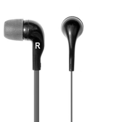 Cirago International Limited CBUDM1 High Definition Earphones with Mic Black