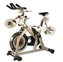 Fitness Master Xmom Momentum Indoor Cycling Bike