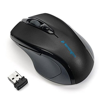 Kensington Pro Fit Mid Size Right handed Wireless Mouse with Nano Receiver K724