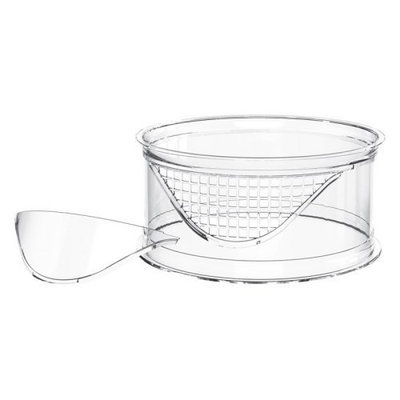 Bio Bubble Pets Terra Clear Riser with Solid and Mesh Insert