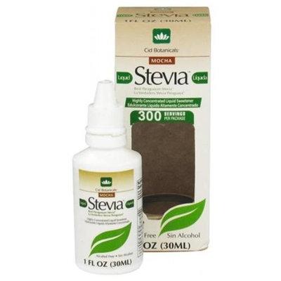 Cid Botanicals - Liquid Stevia Mocha - 1 oz.