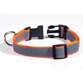 Petflect Reflective Dog Collar Size: Medium Large