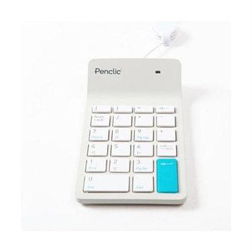 Navarre Distribution Svs Penclic Numeric Keypad, White