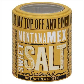 Montana Mex 3.4 oz. Seasoning Sweet Sea Salt Case Of 6