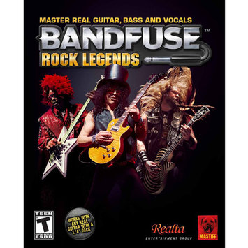 Mastiff Bandfuse Rock Legends Band Pack For Xbox360 And Ps3 Band Pack-Us