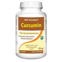 Best Naturals Curcumin Extract 665 Mg, 120 Capsules