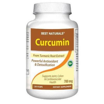 Best Naturals Curcumin Extract 665 Mg, 120 Capsules