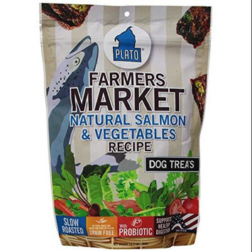 Plato - Salmon & Veggie Dog Treats, 14oz