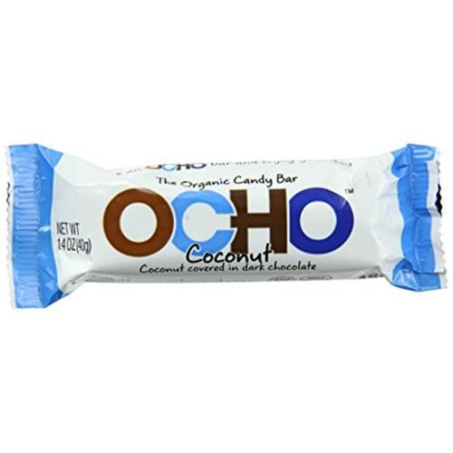 OCHO Organic Candy Bar Coconut 1.4 oz - Vegan