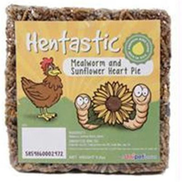 Horseloverz Hentastic Mealworm And Sunflower Heart Pie