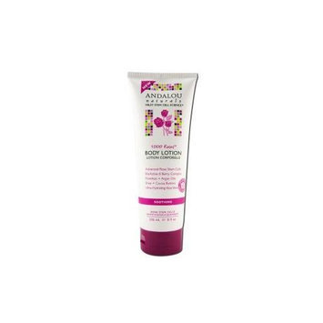 Andalou Naturals 1000 Roses Body Lotion Soothing 8 fl oz