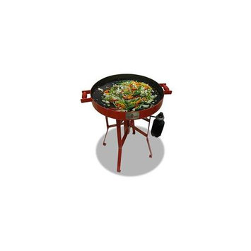 Firedisc Grills FireDisc TCGFD22HRR 22 In. HR Grill With Heat Ring Red