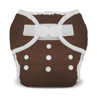 Thirsties Duo Diaper, Mud, Size One (6-18 lbs)