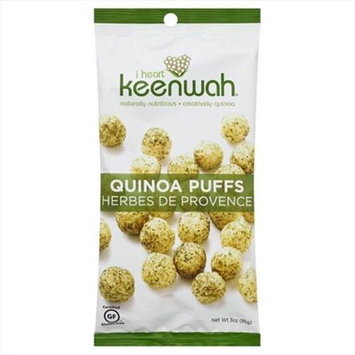 I Heart Keenwah 3 oz. Quinoa Puff Herbs De Prov Case Of 12