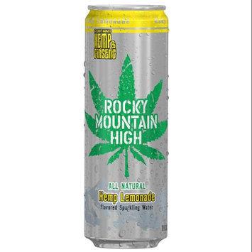 Rocky Mountain High 12-Fluid Ounce Hemp Lemonade Drink, 12 Pack
