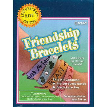 Notions Marketing Leathercraft Kit-Friendship Bracelets 8/Pkg