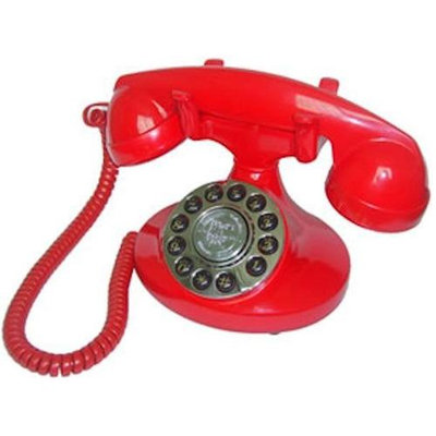 Paramount PMT-ALEXIS-RD Dalexis 1922 Decorator Phone Red