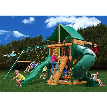 Gorilla Playsets Mountaineer Deluxe Wooden Swing Set