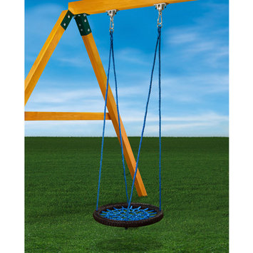 Swing Works Gorilla Playsets Playground Equipment. Blue Orbit Swing