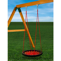 Gorilla Playsets Playground Equipment. Red Orbit Swing
