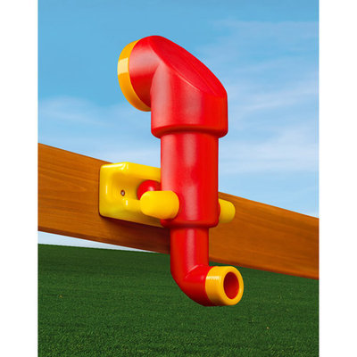 Gorilla Playsets Playground Equipment. Red Looney Periscope