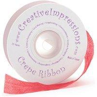 Shreeram Overseas Crepe Ribbon .75 X 25 Yards-Magenta
