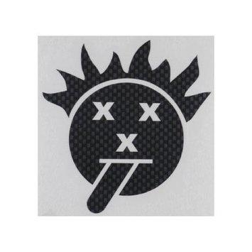 V001C Sticker Sheet Carbon Fiber Psycho XXX Smile XXXC0090 XXX MAIN RACING, INC.