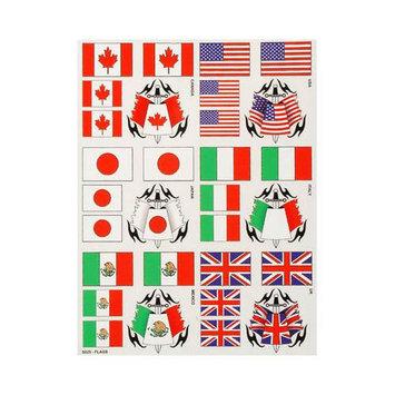 S025 External Decal Flags XXXC1025 XXX MAIN RACING, INC.