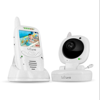 Svat Electronics 32111 Levana 32111 Safe Nsee[tm] Digital Video Baby Monitor With Talk To Baby[tm] Intercom & Lullaby Control