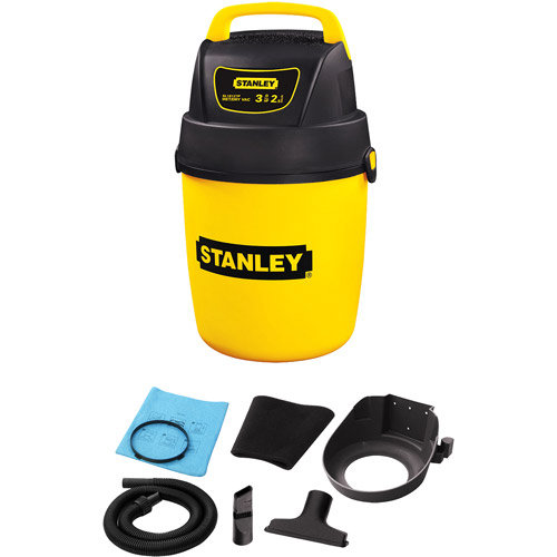 Stanley Vacuum Stanley 2 Gallon Peak 2.0 HP Portable Poly Wet/Dry Vacuum