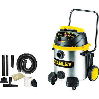 Stanley 14 gal Wet / Dry Vacuum, Stainless Steel