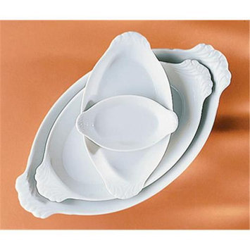 Pillivuyt 240317BL Oval Eared Dish - 6 x 4 Inch