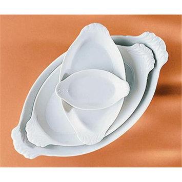 Pillivuyt 16 oz. Eared Oval Dish