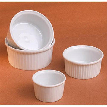 Pillivuyt 260407BL Classic Pleated Ramekin - 2 oz.