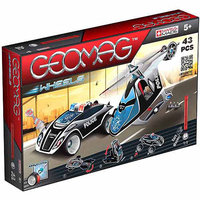 Geomag Wheels Police Twin Pack