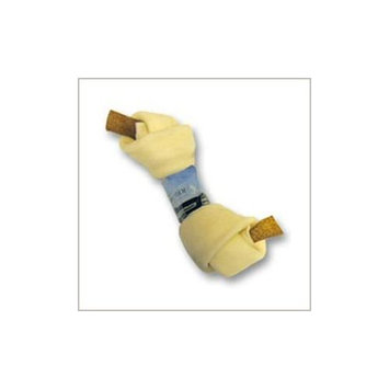 Wholesome Hide Flat Knot Bone with Bacon 4-5 in. - SSP027