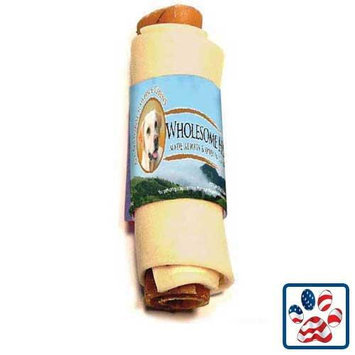 Wholesome Hide USA Rawhide Bacon in Blanket 9-10 inch