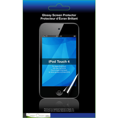 Rota Technology Inc. Green Onions Supply Glossy iPod touch 4G Screen Protector